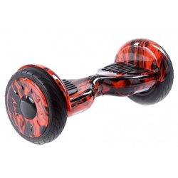 10 Inch Big Wheel Hoverboard w/Bluetooth - Limited Edition Flame