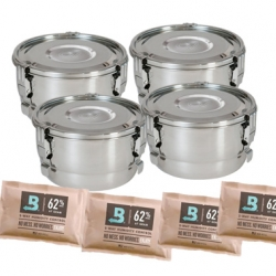 Weed Containers 4 Pack - 2 Liter Containers
