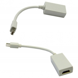 Mini DisplayPort to HDMI Passive Adapter Cable Mini DisplayPort (MiniDP/mDP) Male to
