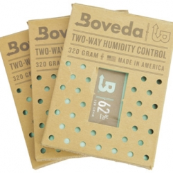 Humidity Packs - 3 Pack Boveda 62% Humidity Packs - 320 Gram Pack Size