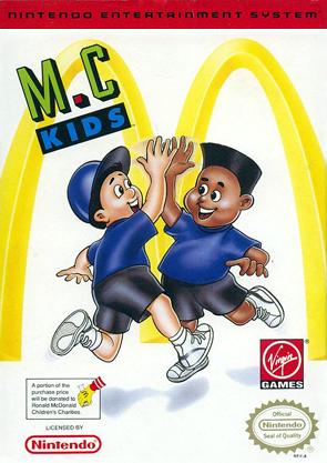 Original Nintendo M.C. Kids  - NES