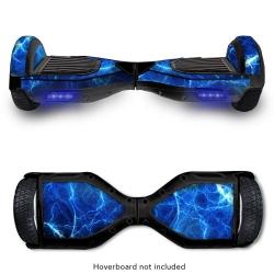 Hoverboard Skins - Lightning Blue Hoverboard Skin