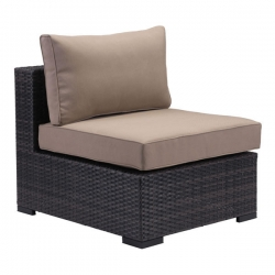 Bocagrande Middle Patio Chair in Brown