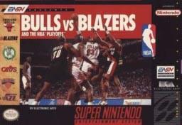 Super Nintendo Bulls vs. Blazers and the NBA Playoffs Pre-Played - SNES