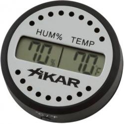 Digital Hygrometer - Digital Round Hygrometer by Xikar
