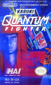 Original Nintendo Kabuki Quantum Fighter  - NES