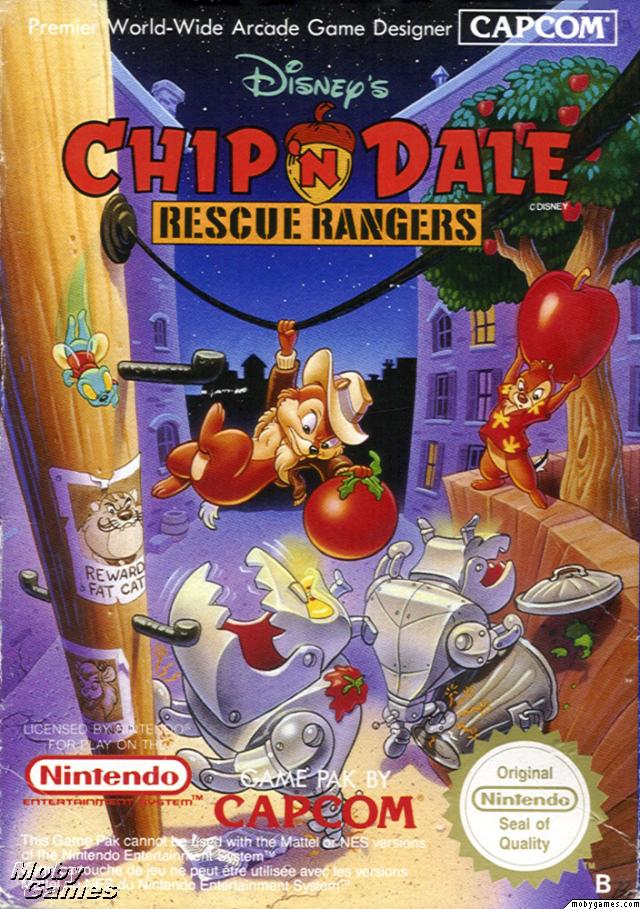 Original Nintendo Chip N' Dale Rescue Rangers Pre-Played - NES