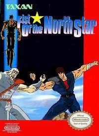 Original Nintendo Fist of the North Star  - NES