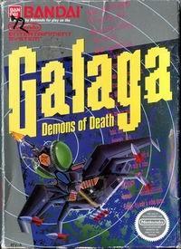 Original Nintendo Galaga: Demons of Death  - NES