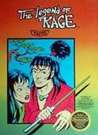 Original Nintendo The Legend of Kage Pre-Played - NES