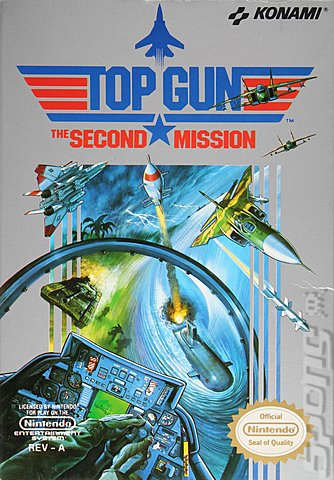 Original Nintendo Top Gun: The Second Mission Pre-Played - NES