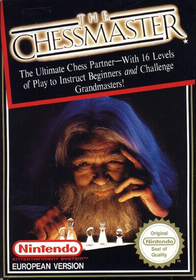 Original Nintendo The Chess Master Pre-Played - NES