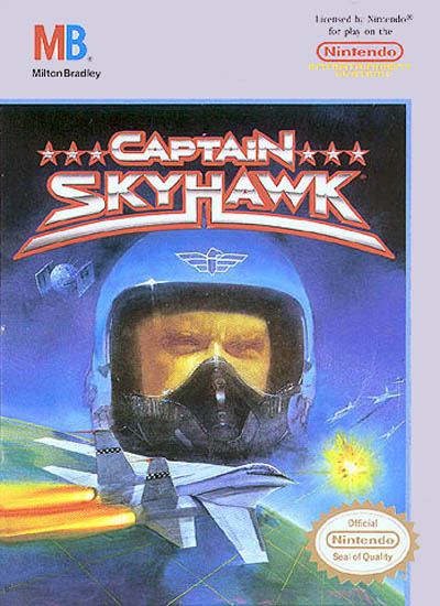 Original Nintendo Captain Skyhawk Pre-Played - NES