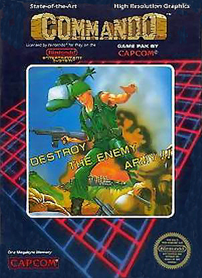 Original Nintendo Commando Pre-Played - NES