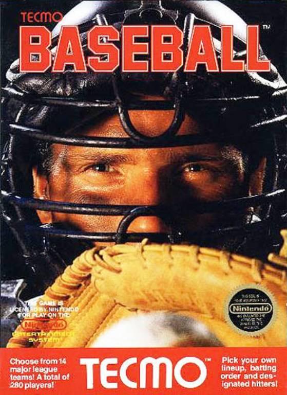 Original Nintendo Tecmo Baseball  - NES