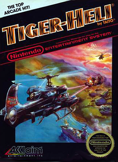 Original Nintendo Tiger-Heli w/ Original Packaging  - NES