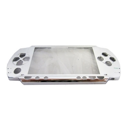 PSP 1000 Repair Part Metallic Faceplate FRONT SHELL ONLY Pearl White