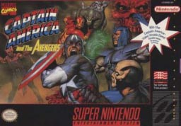 Super Nintendo Captain America and the Avengers Pre-Played - SNES