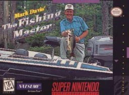 Super Nintendo Mark Davis' The Fishing Master Pre-Played - SNES