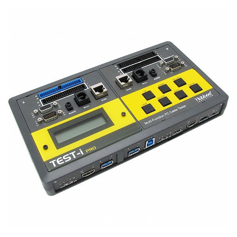 PC Cable Tester Tests:  IDC40 HD15 Audio RJ11/45 SATA DisplayPort USB 3.0 USB 2.0 USB