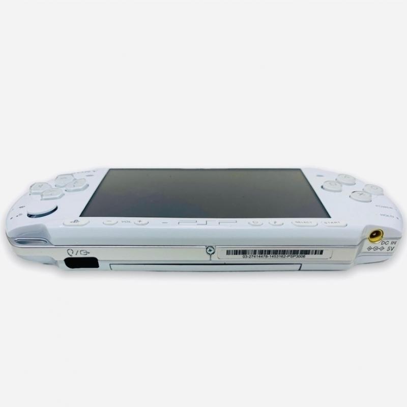 White PSP 3000 - Sony PSP 3000 Pearl White