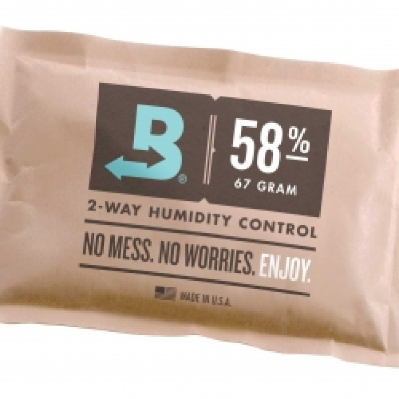 Humidity Pack 58% Relative Humidity Pack - 67 Gram Pack by Boveda