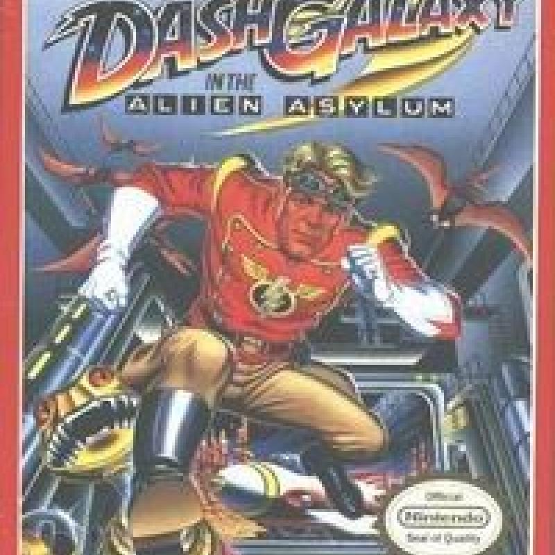 Original Nintendo Dash Galaxy in the Alien Asylum Pre-Played - NES