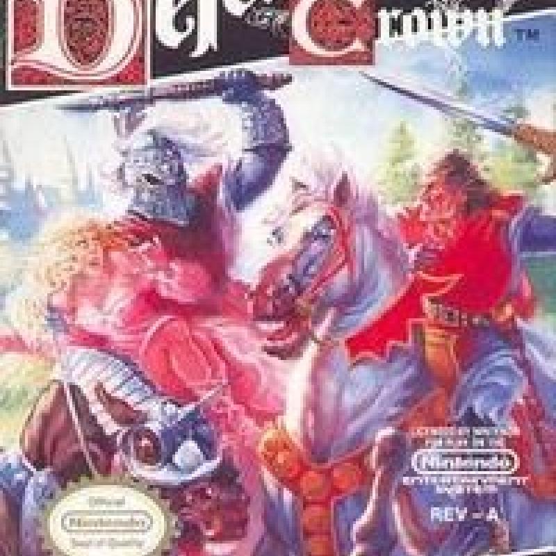 Original Nintendo Defender of the Crown Pre-Played - NES