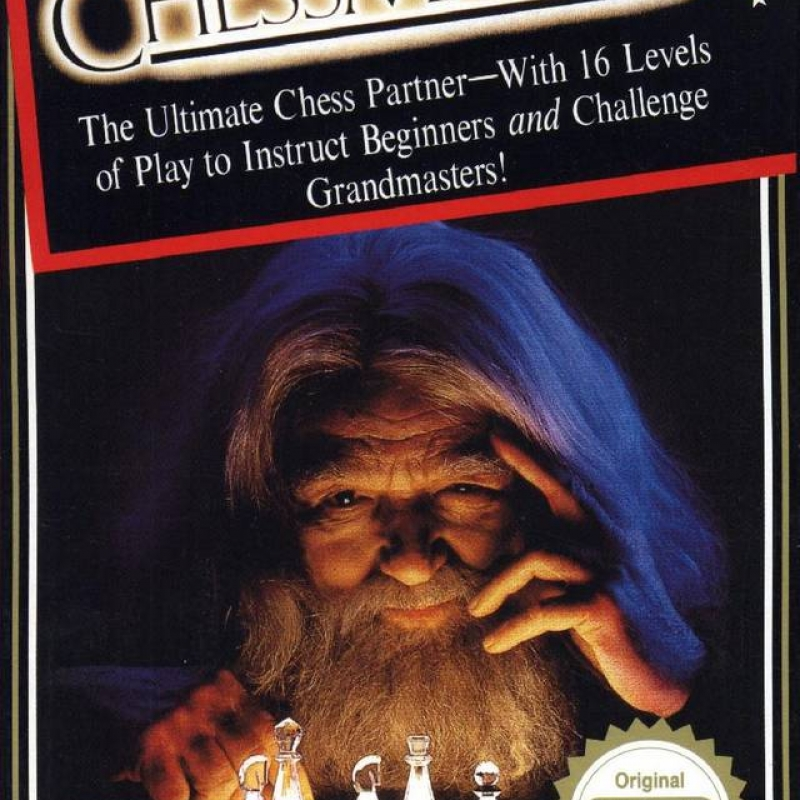 Original Nintendo The Chess Master Pre-Played - NES
