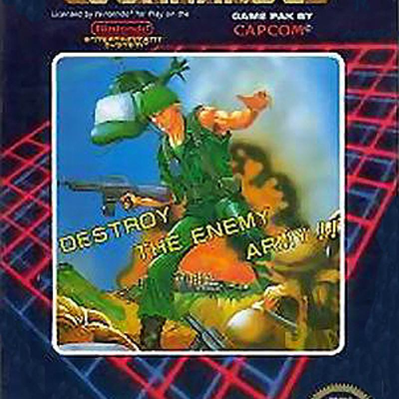 Original Nintendo Commando Pre-Played - NES