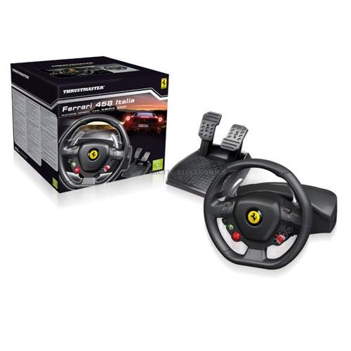 Xbox Controller Ferrari 458 Racing Wheel (thrustmaster)